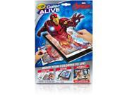 Crayola Color Alive Virtual Coloring Book Marvel Avengers