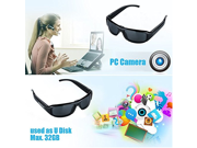 Oumeiou HD 1080P Sunglasses Mini Hidden Camera Eyewear Spy Camcorder DVR Video Recording with 8GB TF Card