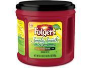 Folgers Simply Smooth Ground Coffee Ground