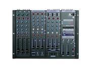 VocoPro KJM8000PLUS 9 Channel Pro KJDJ Mixer with Digital Key Control and 7 Band Graphic Equalizer