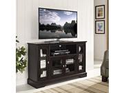 Espresso Highboy TV stand