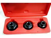NEW OIL FILTER CAP WRENCH SET - 3 PCS