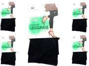 Pack of 5 L'eggs Opaque Leggings Size M Contol Top Opaque Black Pantyhose 074200941432 9SIA9AX5R35515