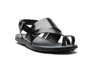Tod s Men s Leather Sandalo Infrad Sott Cuoio Sandal Shoes Black