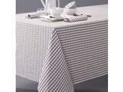 Garden Party Gingham Check Tablecloth In Yarn-Dyed Cotton