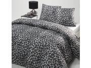 Leopard Printed Cotton Duvet Cover 9SIA9D64NX3759