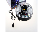 18w LED Magic Ball Lighting RGB Color VOX Stage Rotating DJ Disco Lamp Strobe Laser Crystal Light Stage Disco Digital Magic Ball Multi Color Flashing 9SIAAZM45N9125