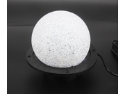 Magic ball 7 Color Changing Crystal Snow Ball LED Night Light LED Sound color crystal magic ball  Laser Light scene lights Sound color fun lights ktv bar stage 9SIAAZM45N7129