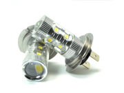 H7 12V 6000K 50W Cree XB D LED Light Bulb DRL Car Driving LampCanbus High Power HID White 50w H7 Car LED Fog Light Daytime Running Lamp Fog Lights