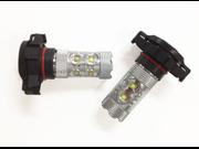 H16 cree 50W high power LED front fog lights White 5202 H16 10 x 5W High Power CREE XP-E LED Bulbs Fog Daytime Running Lights