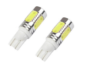 New Fashion 2x T10 Car Auto LED 7.5w Turn Signal Brake Reverse Fog Light Lamp Bulb 7.5w high power LED car fog five surface emitting