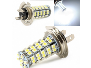 2PCS White High Power 6000K H7 1210 68SMD LED Car Vehicle Fog Light LED Xenon White Headlight Bulb Fog Light Lamp Headlight Driving Lamp DRL Bulb Head Light for