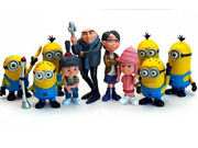 2015 New Despicable Me 2 Minions Toys Ornament Christmas Gift Despicable Me doll Minion Decoration hand-done Brinquedos 9SIAAZM45N9581