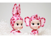 2pcs/set Kewpie Sonny Angel Baby Dolls Set 2015 Kiss Lover Rabbit Doll Dreams Toys Sonny Angel Artist Baby 2pcs Set Gift 9SIAAZM45N7381