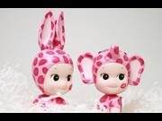 2pcs/set Kewpie Sonny Angel Baby Dolls Set 2015 Kiss Lover Rabbit Doll Dreams Toys Sonny Angel Artist Baby 2pcs Set Gift 9SIV0EU4SM6019