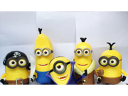 Despicable Me Minions Deluxe Action Figure Build A Minion Pirate / CRO - Minion AND Build-A-Minion Arctic Kevin Banana - 2 items bundle 9SIV0EU4SM6533