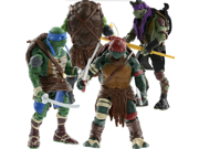 2015 Set of 4pcs Teenage Mutant Ninja Turtles Action Figures Toys Movie Hand Model Toys 9SIV0EU4SM6060