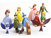 12pcs/set Disney Princess Sophia cartoon dolls doll toys Decoration Disney Sofia The First Royal Family 9SIAAZM45N8344