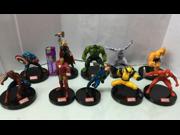The Avengers 2 Marvel Superhero The Avengers Justice League Iron Man Captain America Thor Hulk  pvc action figure toy Doll 10 pcs/set 9SIAAZM45N9474
