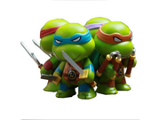 Tmnt 4pcs Set Teenage Mutant Ninja Turtles Q Version PVC Action Figures doll model Gift Toy 9SIAAZM45N8470