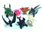 How To Train Your Dragon 2 Toothless Battle Figure Child Gift Collection 7pcs/set 9SIV0EU4SM6171