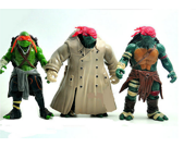 2015 Hot sale 6Pcs/lot Teenage Mutant Ninja Turtles TMNT Action Figures Toy Set Car Model Dolls Classic Collection 9SIAAZM45N8702