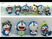 Anime Cartoon Doraemon Figure Doraemon PVC Action Figure Toys Dolls 6pcs set 9SIAAZM45N8374