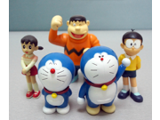 Anime Cartoon Doraemon Figure Doraemon Nobita PVC Action Figure Toys Dolls 6Pcs Set 9SIAAZM45N8663