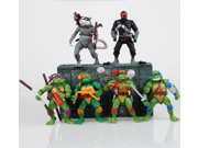 Classic Collection- Hot Sale 6pcs/set Teenage Mutant Ninja Turtles Tmnt Action Figures Toy Set Classic Collection 9SIAAZM45N9302