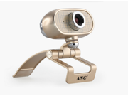 Aoni A9 Full HD 1080P USB Video Webcam with Microphone for PC / Laptop / Smart TV / Skype, Digital Zoom, Clip-On & Freestanding
