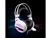 Hot Sale headphones letu v7 Vibration Colorful 3D Surround Headphones Gaming Headset with Built-In USB Sound Card, 3.5mm USB Wired Stereo Gaming Headphone with Microphone Game PC Headset