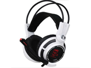 Hot Sale headphones letu G941 Vibration Colorful 3D Surround Headphones Gaming Headset with Built-In USB 7.1 Sound Card, 3.5mm USB Wired Stereo Gaming Headphone with Microphone Game PC Headset