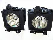 A Series Front Projection Dual Lamp & Housing Twin Pack for the Panasonic PT-D5700L - 180 Day Warranty