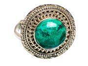 Ana Silver Co Chrysocolla 925 Sterling Silver Ring Size 8.5