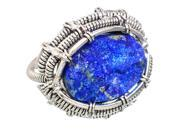 Ana Silver Co Large Rough Lapis Lazuli 925 Sterling Silver Ring Size 9