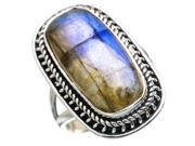 Ana Silver Co Labradorite 925 Sterling Silver Ring Size 7