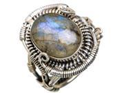 Ana Silver Co Labradorite 925 Sterling Silver Ring Size 8.25