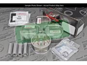 Wiseco 1400HD E85 Pistons Mitsubishi Eclipse 4G63 4G63T 6 bolt 85.0mm 10.5 1