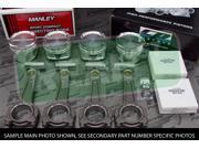 CP X-Style Pistons Manley 625+ Turbo Tuff Rods VTEC B18A B18B 81.5mm 12.5:1