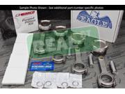 Wiseco Pistons Eagle Rods Lancer Evo X 4B11 4B11T 88mm 9.6:1