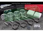 CP Pistons BC625+ Rods Prelude H22 H22A H22A1 H22A4 11.5:1 87.5mm