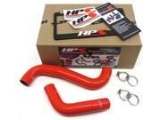 HPS Radiator Hose Red Fits Subaru 2008-2014 WRX STI EJ257 57-1064-RED