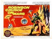 Robinson Crusoe On Mars Hz Movie Poster 11x17 mini poster 9SIA9HK3JK2117