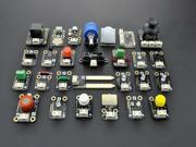 27-piece Sensor Set, Supports Arduino, Raspberry Pi, Edison, & Galileo