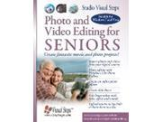 Photo and Video Editing for Seniors (Studio Visual Steps) (Paperback)