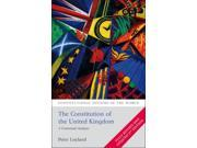 Constitution of the United Kingdom: A Contextual Analysis (Constitutional Systems of the World) (Paperback) 9SIABBU4SS0639