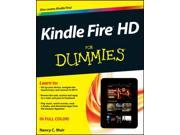 Kindle Fire HD for Dummies For Dummies
