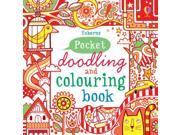 Pocket Doodling and Colouring Book: Red Book (Usborne Art Ideas) (Paperback)