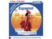 Coffret conversation Espagnol (guide + 1 CD) (Paperback)