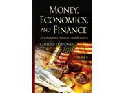 Money, Economics & Finance: 4 (Money Economics Finance Develo) (Hardcover)